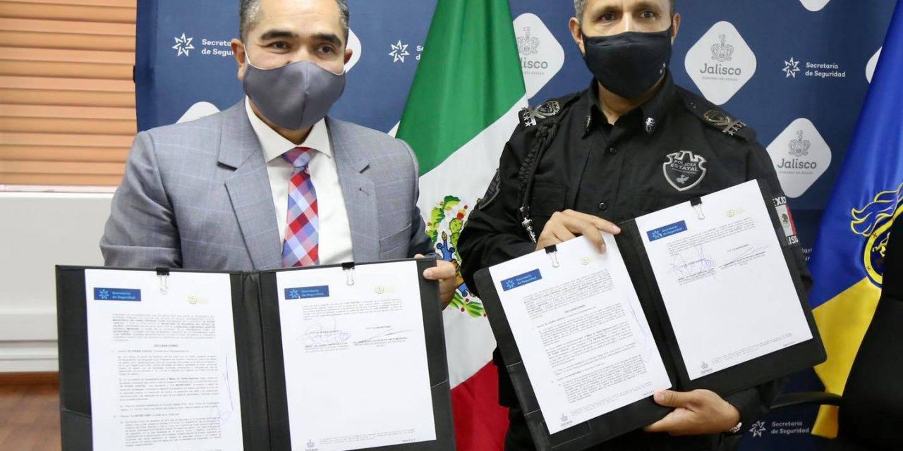 Convenio con la Secretaría de Seguridad Jalisco