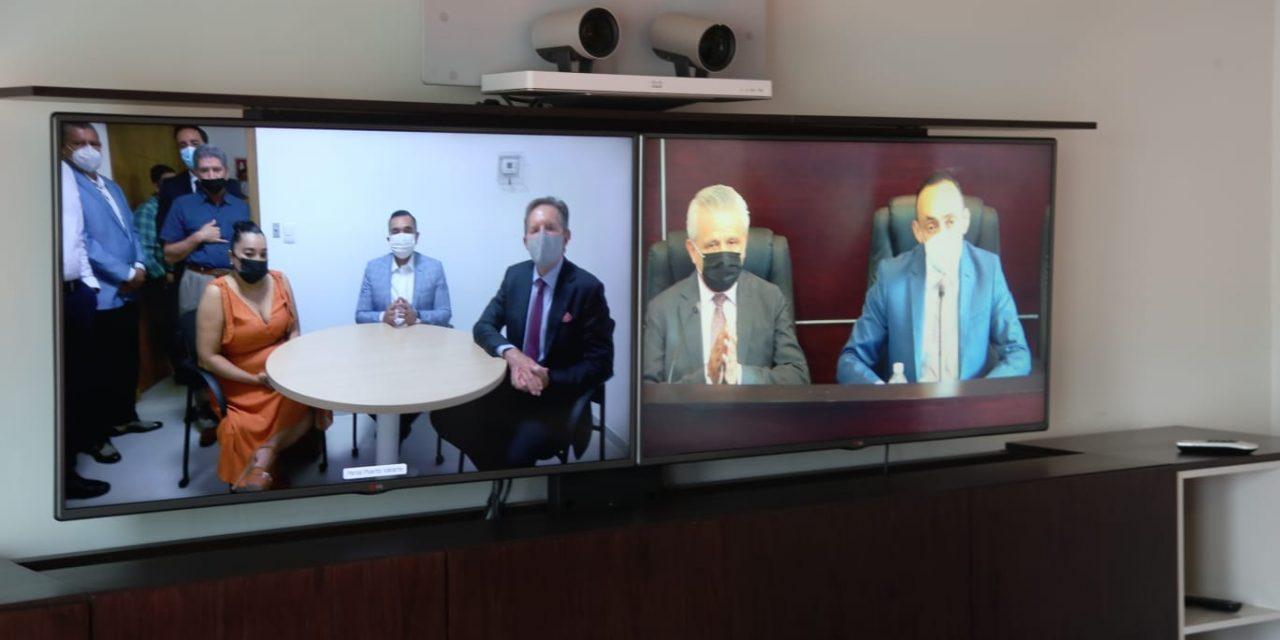 Realiza PJEJ prueba de sistema de videoconferencia en Puerto Vallarta