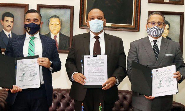 Firma de convenio con la Comisión Estatal de Derechos Humanos del Estado de Jalisco